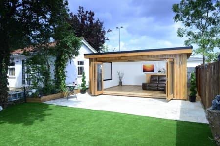 Cedar garden summer house