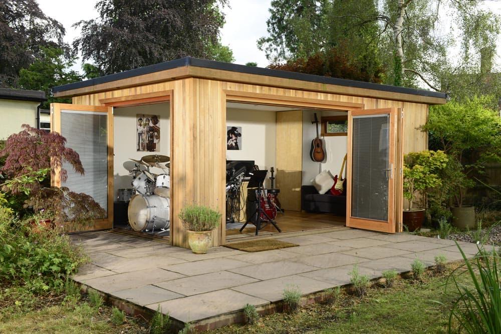 Bespoke garden buildings insulated garden buildings crown