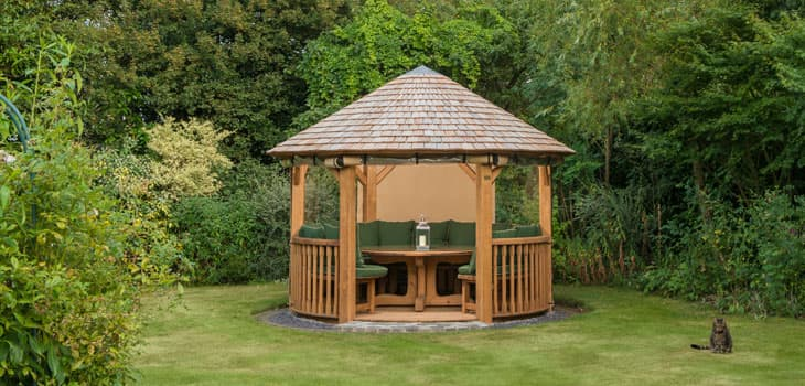The Edward Luxury Gazebo Additional Extras