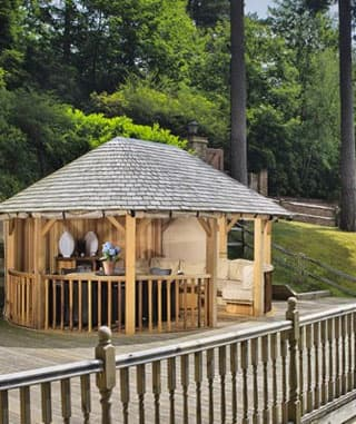 Luxury Wooden Gazebos