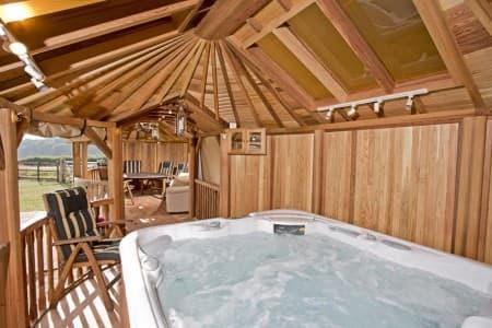 Crown Pavilions Bespoke Hot Tub