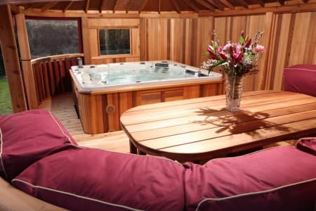 Crown Pavilions Hot Tub bespoke