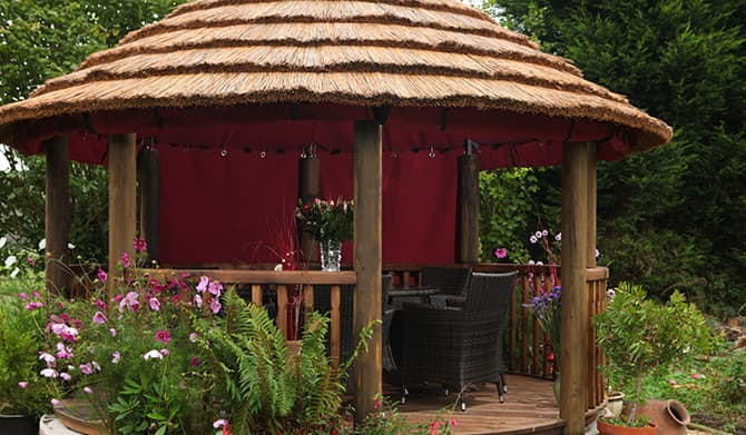 Camelot Redwood Gazebo