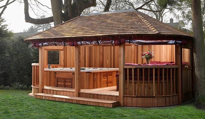 Crown Spa Collection Spa Garden Rooms Hot Tub Garden
