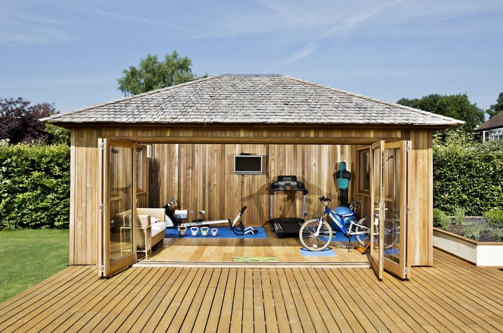 What will you do with your crown pavilions garden room for Bespoke garden rooms
