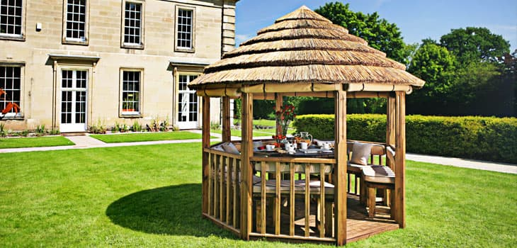 Guinevere Luxury Wooden Gazebo Additional Extras