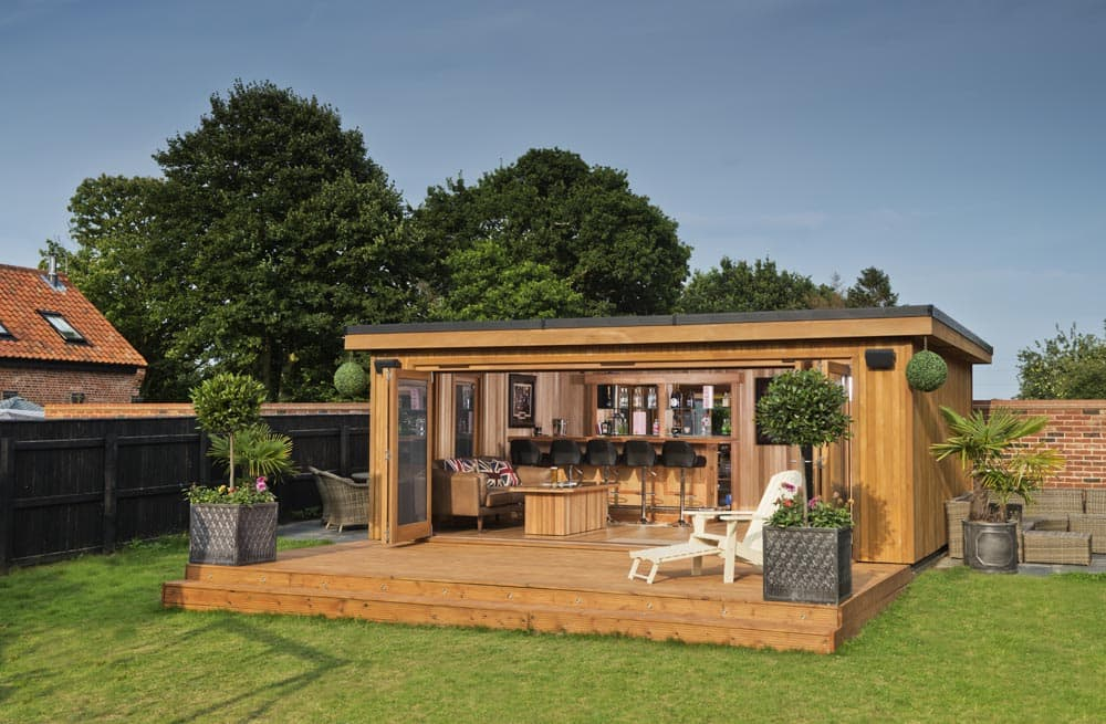 Garden Cinema Rooms Outdoor Media Room Bespoke Garden