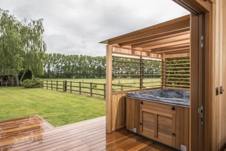 Red Cedar Spa Gazebo