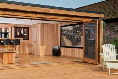 Garden Cinema Rooms, Handcrafted by Crown Pavilions
