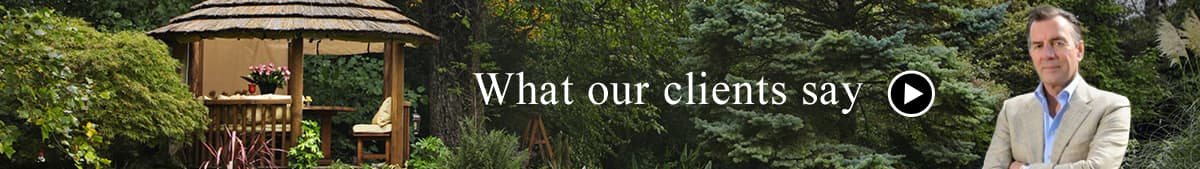 What our clients say about our garden pavilions