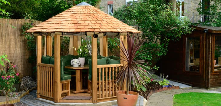 Tudor Luxury Wooden Gazebo Bespoke Garden Buildings