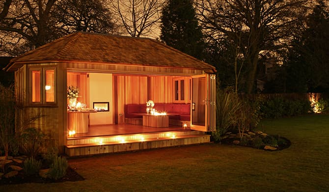 Bespoke Garden Rooms Garden Buildings Crown Pavilions