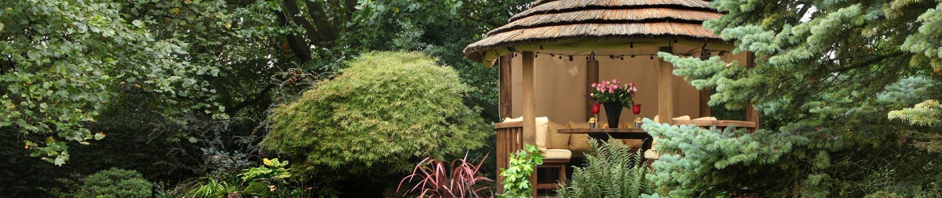Edward Luxury Wooden Gazebo