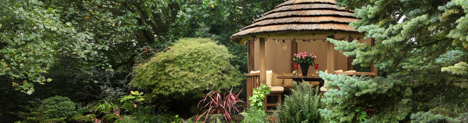 Edward Luxury Wooden Gazebo