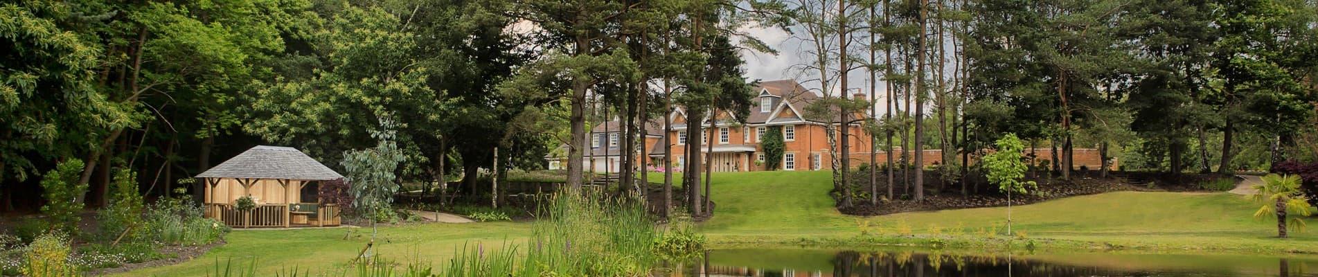 Hampton Luxury Wooden Gazebo