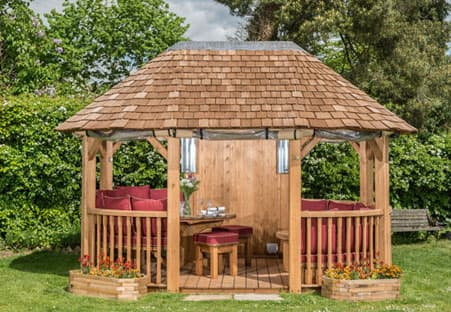 Ascot Luxury Wooden Gazebo