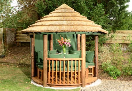 Elizabeth Luxury Wooden Gazebo