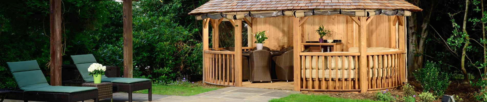Hampton Luxury Wooden Gazebo