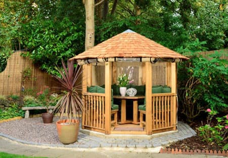The Tudor Luxury Gazebo