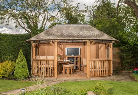 Windsor Luxury Wooden Gazebo