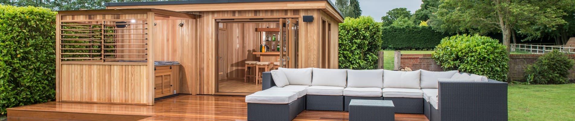 Luxury garden buildings pool houses in oxfordshire for Luxury garden office