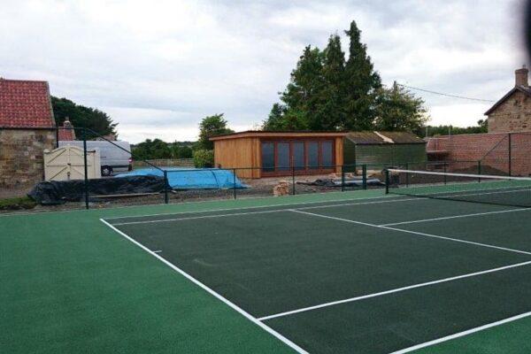 Bespoke Tennis Pavilion