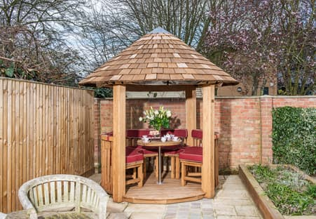 Rose luxury garden building bespoke garden buildings for Luxury garden sheds