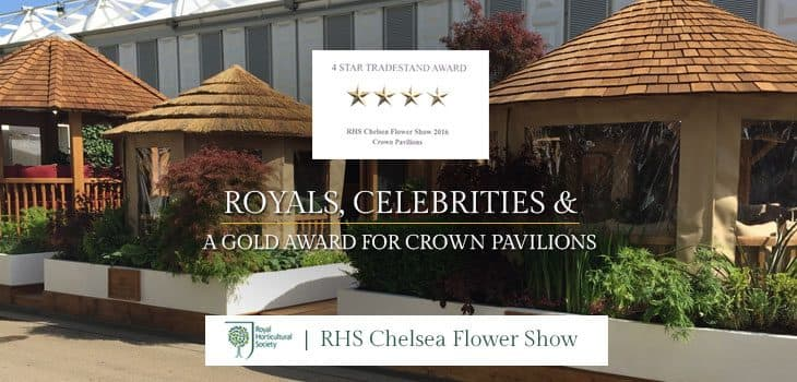 Royals, Celebrities and a Gold Award for Crown Pavilions