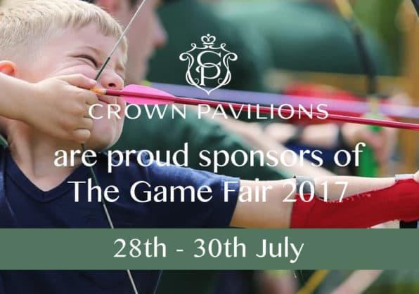 Crown Pavilions Sponsor The Game Fair