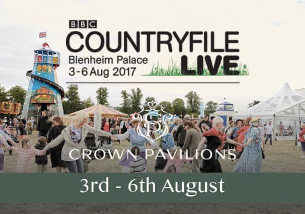 Crown Pavilions at countryfile live