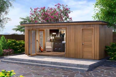 design 4 inspiration for a contemporary garden shed - Garden Sheds 5m X 3m