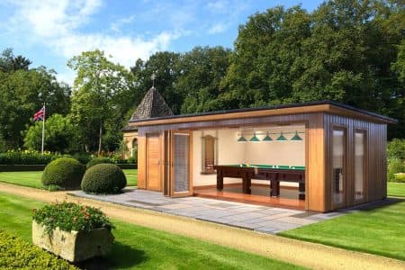 Garden Room For Entertainment