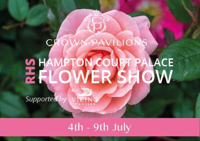 Crown Pavilions Exhibiting at RHS Hampton Court Palace Show 2017
