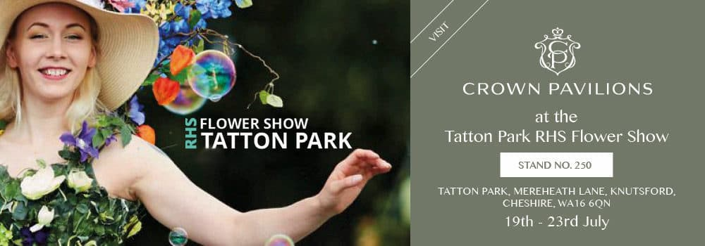 Visit Crown Pavilions at The RHS Tatton Park Show
