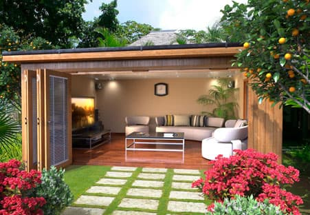 New garden room collection crown pavilions - Garden in small space collection ...