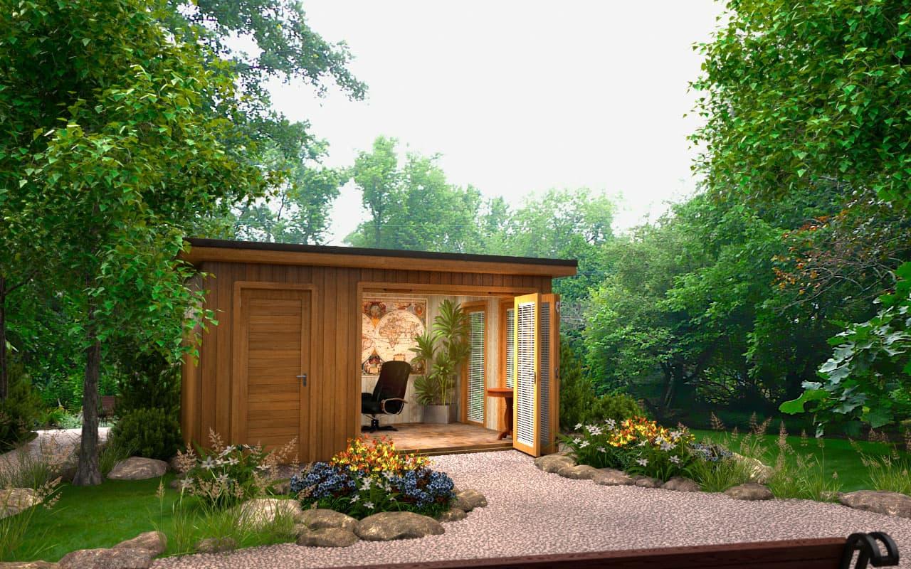 Design your perfect garden room for summer for Green garden rooms