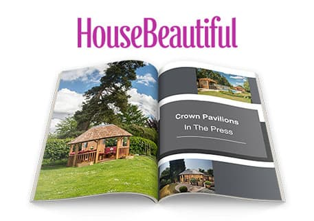 Crown Pavilions in House Beautiful