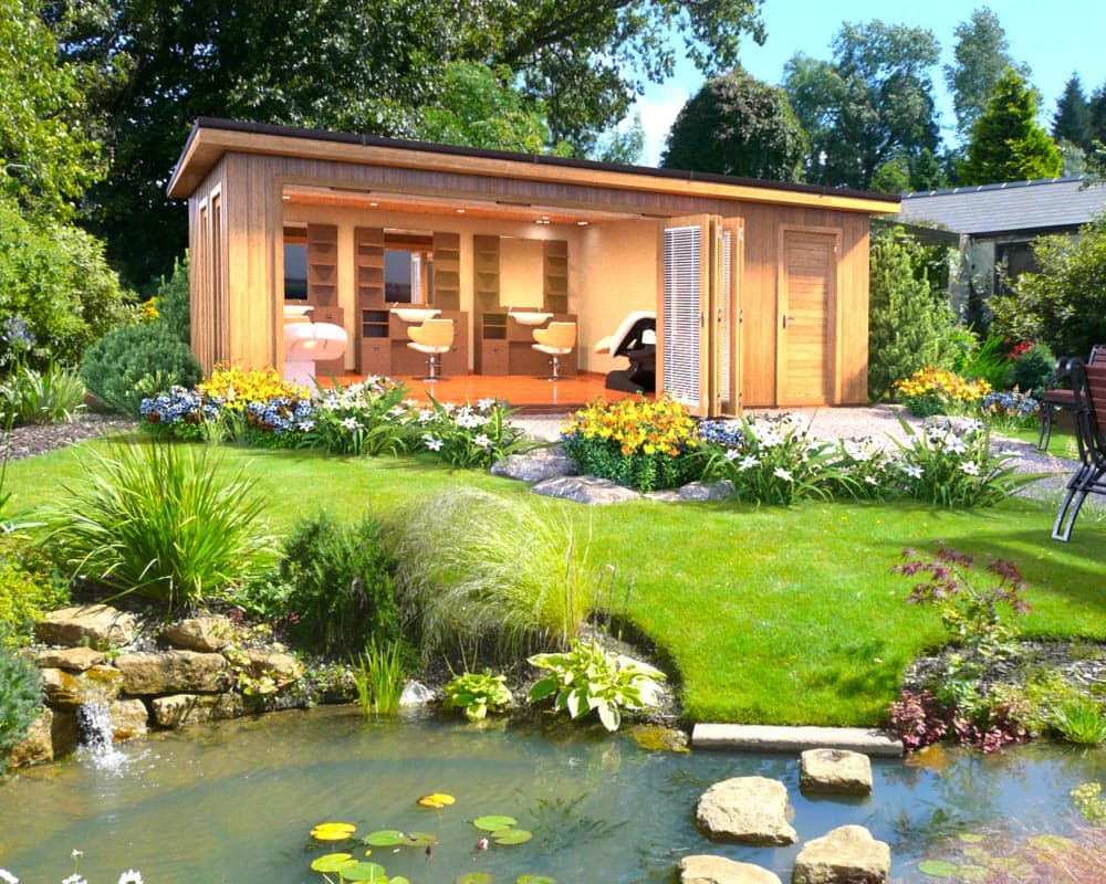 Ideas for a garden room extension crown pavilions for Bespoke garden rooms