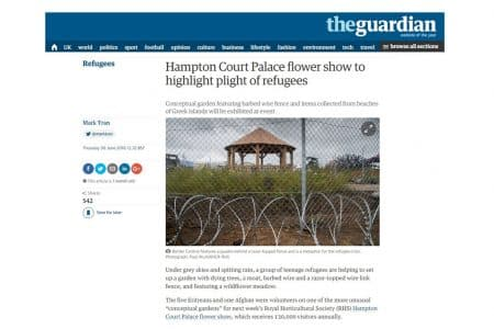 Crown Pavilions Feature in The Guardian