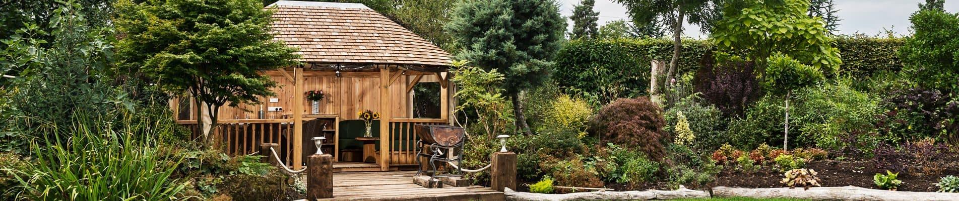 Luxury Wooden Hampton Pavilion