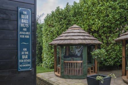 Garden Gazebo at The Blue Ball Pub, Surrey