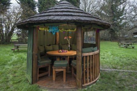 Garden Pavilion at The Little Brown Jug, Kent