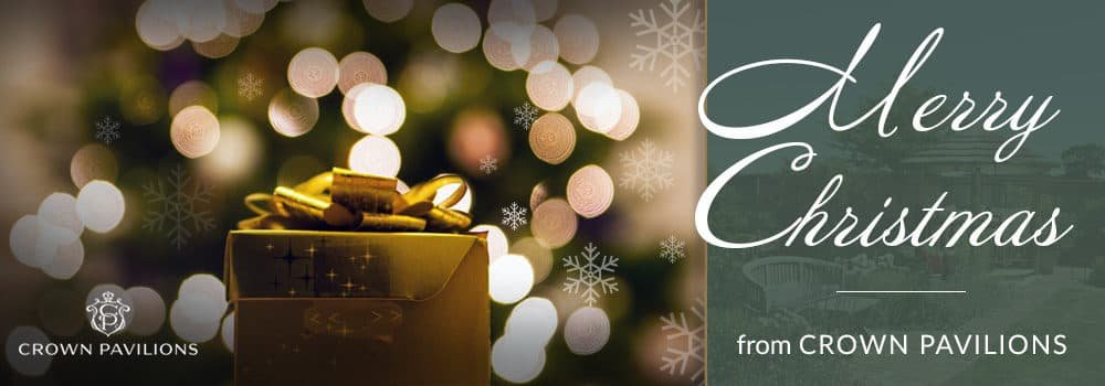 Merry Christmas from Crown Pavilions!