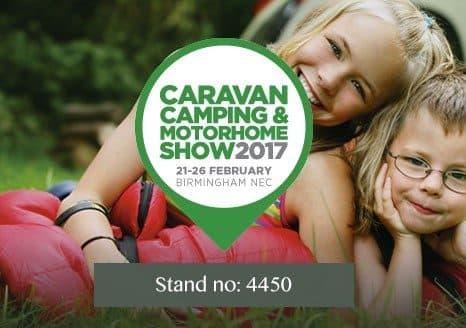 Visit Crown Pavilions at Camping, Caravan & Motorhome Show