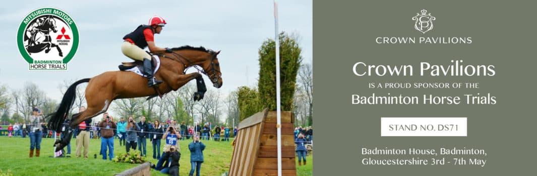 Crown Pavilions is a proud sponsor of the Mitsubishi Motors Badminton Horse Trials