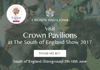 Visit Crown Pavilions at the South of England Show