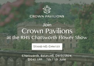 Crown Pavilions at RHS Chatsworth Show