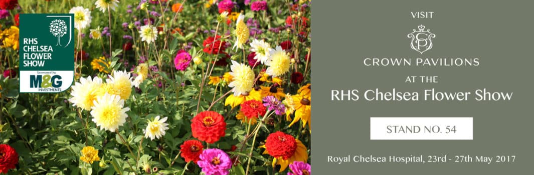 Crown Pavilions at the RHS Chelsea Flower Show