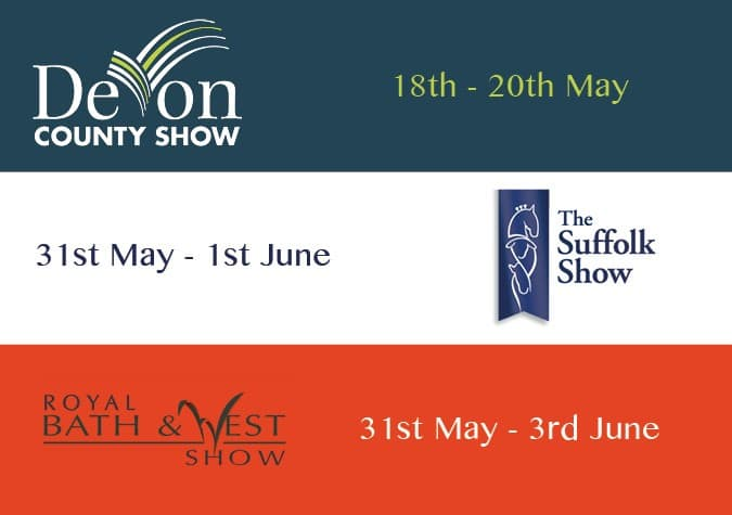 Visit Crown Pavilions at these shows