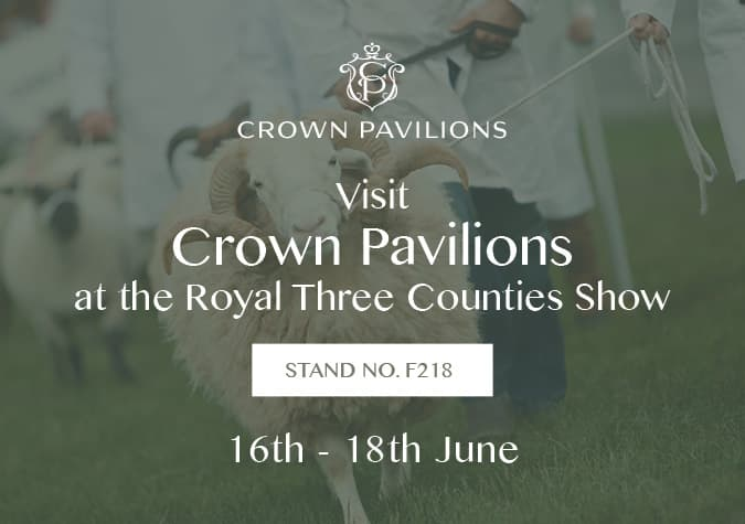 Crown Pavilions at Royal Three Counties Show